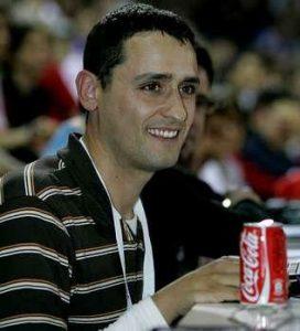 Gustavo Voces. Periodista oficial del Extremadura Rallye Team